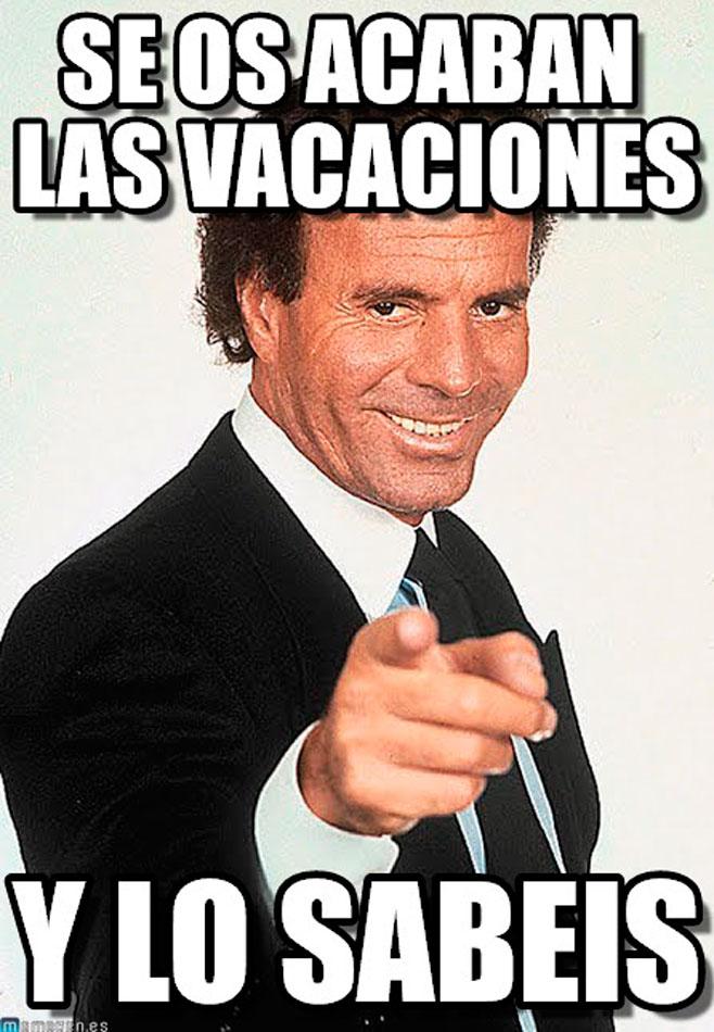 Julio Iglesias sigue de vacaciones