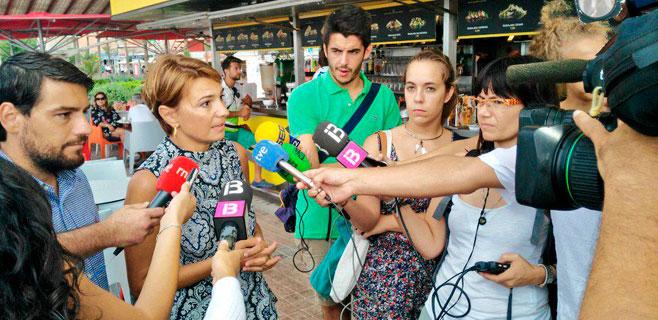 El PP denuncia el abandono de Platja de Palma y pide un pleno extraordinario