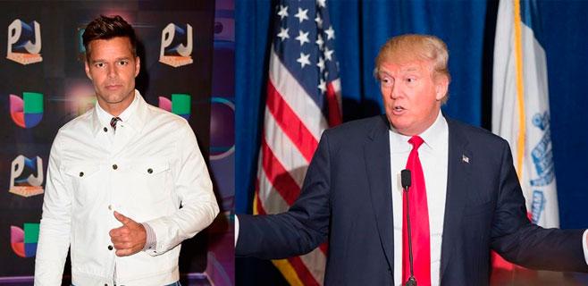 Ricky Martin también arremete contra Donald Trump