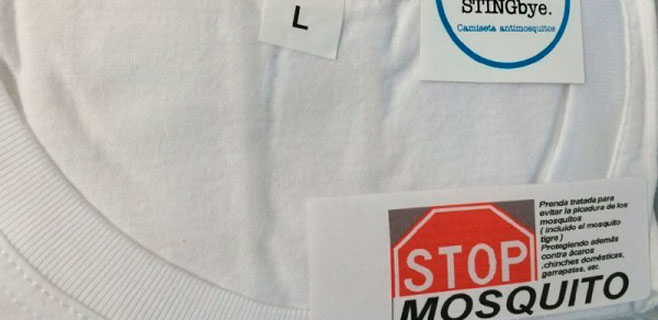 Una empresa catalana fabrica una camiseta antimosquitos
