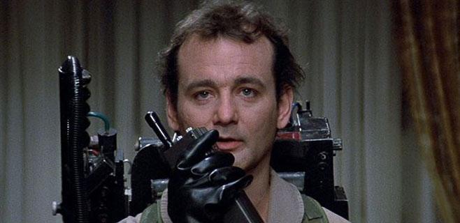 Bill Murray estará en la nueva entrega de Cazafantasmas