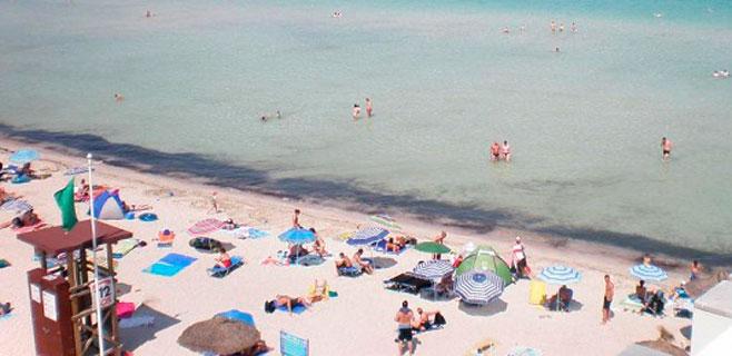 Fallece ahogado un ciudadano alemán de 83 años en la Playa de Alcúdia