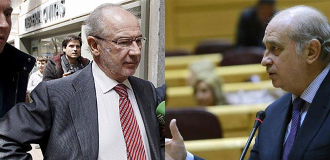 Interior admite la reunión de Rato y Fernández Díaz