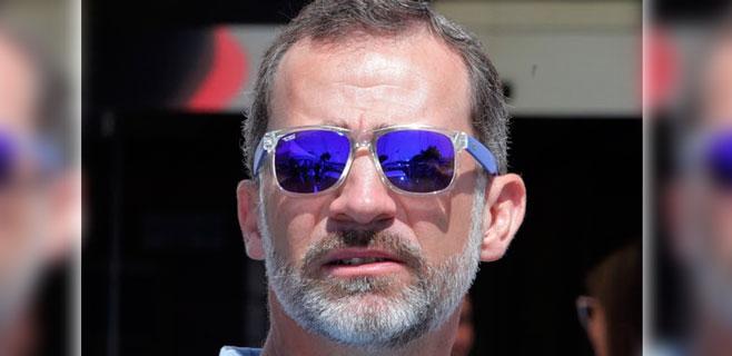 El rey lleva gafas mallorquinas