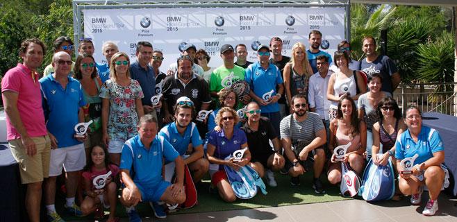 100 parejas participan en el BMW Grand Pádel Tour 2015