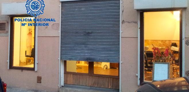 2 detenidos con antecedentes por robar en locales de Jaume III y Santa Catalina