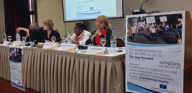 Estaràs pide a Europa que cumpla la convención de la ONU de discapacidad