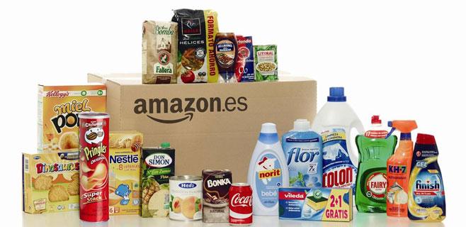 Amazon ya es un auténtico supermercado online