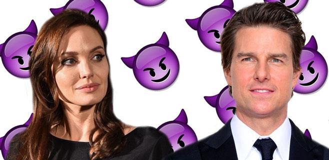 Angelina Jolie y Tom Cruise, los más odiados de Hollywood