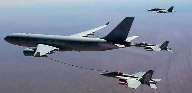 Australia combate al Estado Islámico con aviones