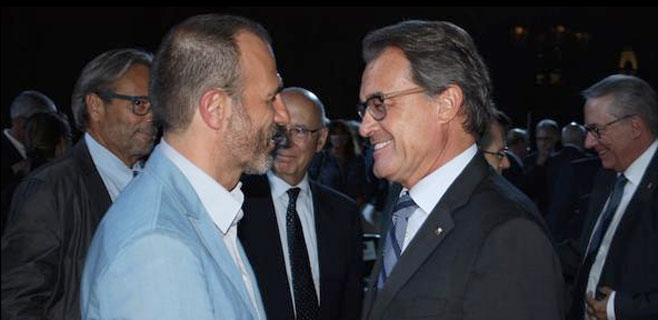 Barceló se hace la foto con Mas