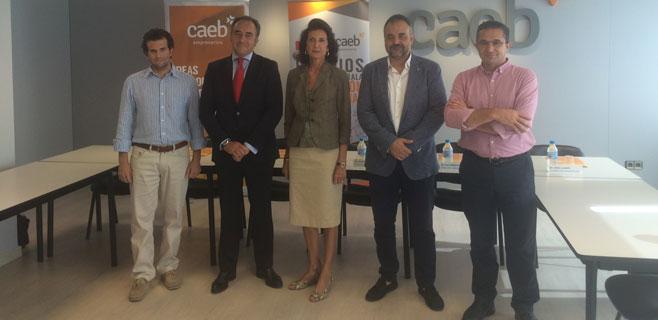 CAEB y Santander crean unos premios para emprededores