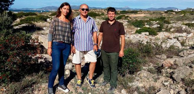 Cort se compromete a evitar la degradación de la zona de Es Carnatge