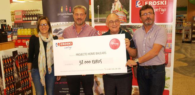 Eroski dona 38.000€ a Projecte Home