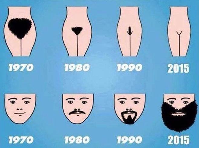 El protagonismo del pelo con los años
