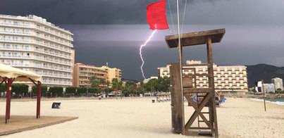 Alerta en la Serra y el sur de la isla por la inminente entrada de un cap de fibló