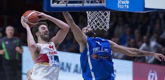 Espa�a se planta en semifinales tras derrotar a Grecia