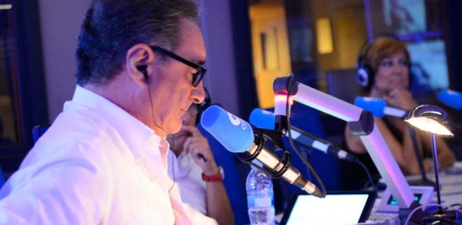 Carlos Herrera abre temporada con el rey Juan Carlos