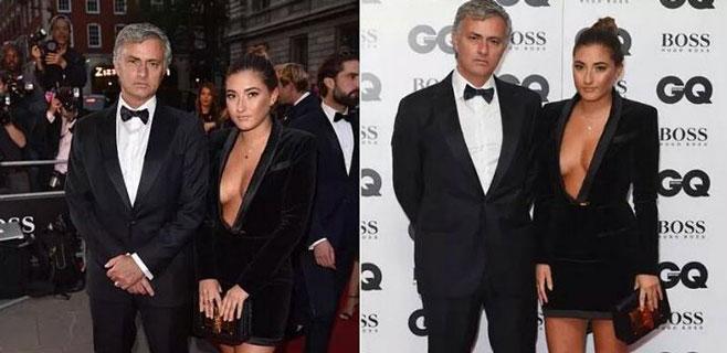 La hija de Mourinho causa sensación