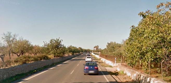 Muere un hombre al chocar contra un muro en la carretera Inca-Binissalem