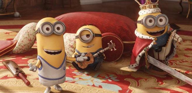 Los Minions ya es la segunda película más taquillera de la historia