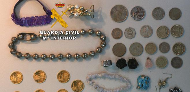 Detenido un hombre en Sa Pobla por comprar joyas robadas de varios casos