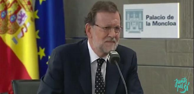 Junts pel Sí aprovecha el patinazo de Rajoy en Onda Cero