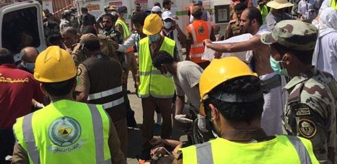 453 peregrinos muertos en una avalancha en La Meca