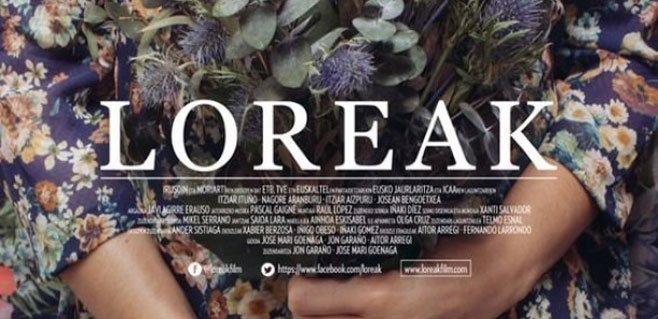 Loreak representará a España en los Oscar