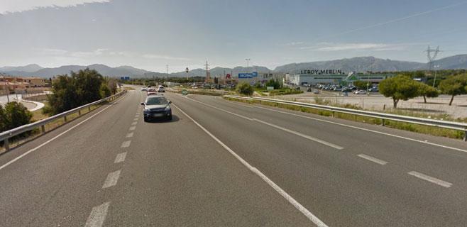 La carretera Ma-30 permanecerá cerrada durante 10 noches por obras