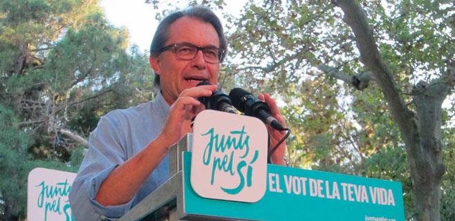 Artur Mas, Joana Ortega e Irene Rigau, imputados por el 9-N