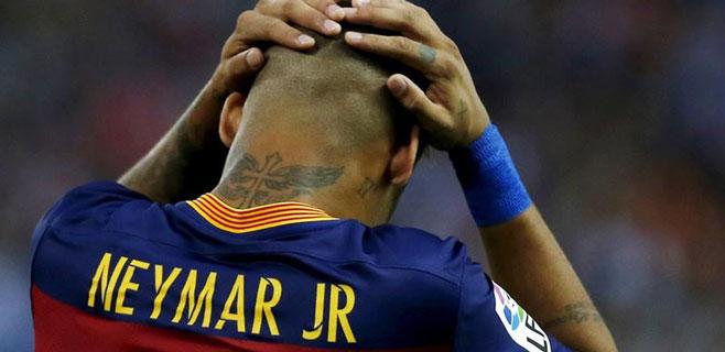 Fiscalía embarga 42,5 millones a Neymar