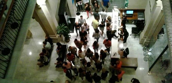 La Nit de l'Art llena las calles de Palma