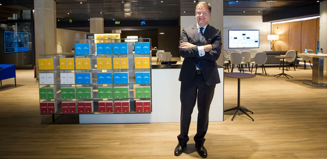 La Caixa estrena en Palma su nuevo modelo de oficina