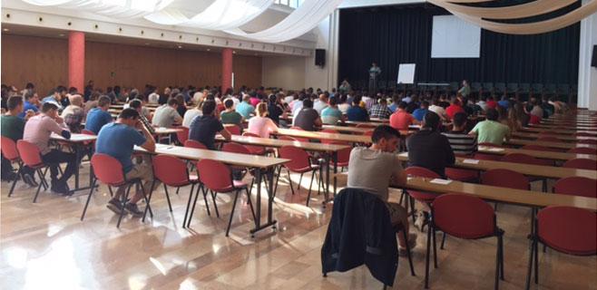 318 aspirantes a guardia civil se presentan a las oposiciones en Balears