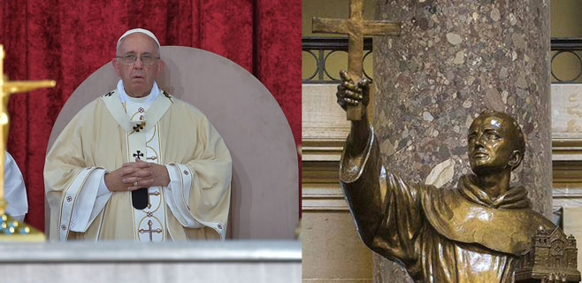 Fray Juníper Serra ya es santo
