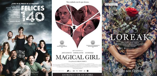 'Felices 140, 'Loreak' y 'Magical girl', a los Oscar