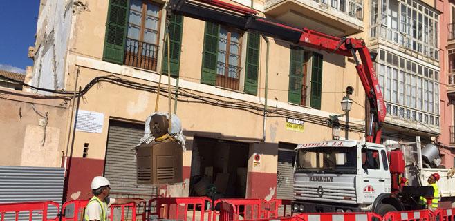Cort inicia el proceso para retirar la recogida neumática de basura en Palma