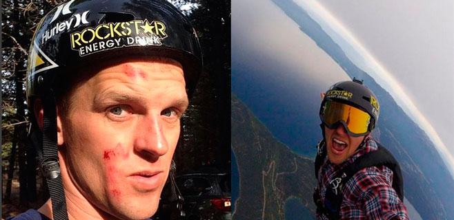 Muere una estrella de la MTV haciendo paracaidismo