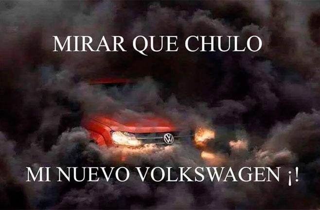 Mi nuevo Volkswagen verde