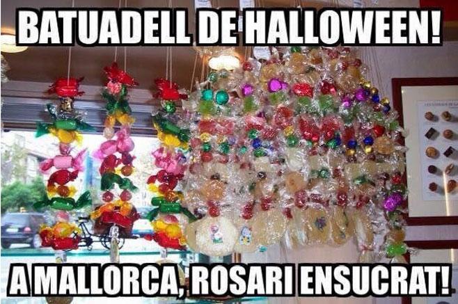 La tradición arremete contra Halloween