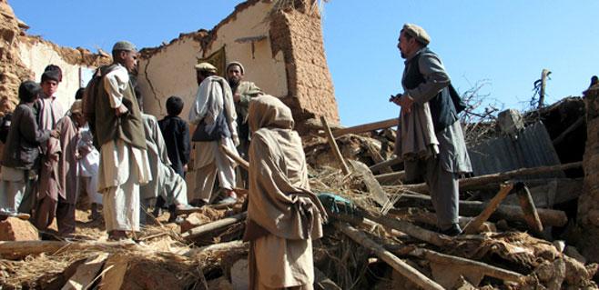 Más de 30 muertos en un terremoto en Afganistán