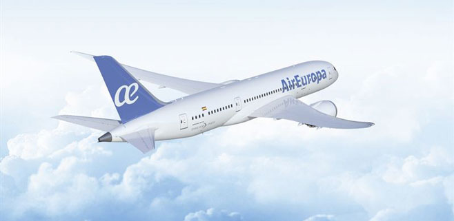 Air Europa se pasa al color azul
