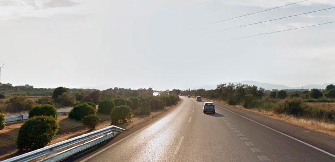 Muere un turista atropellado cuando caminaba por la autopista de Llucmajor