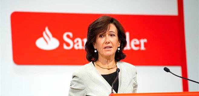 Banco Santander gana 5.106 millones hasta septiembre
