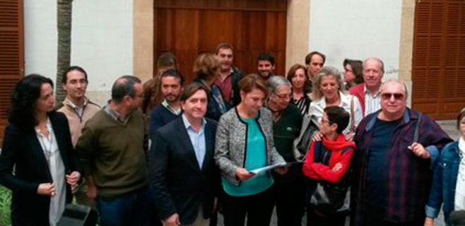 El PP pide que el monumento de sa Feixina sea Bien de Interés Cultural