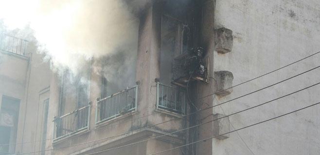 Un incendio en un piso de Son Gotleu obliga a desalojar todo el edificio