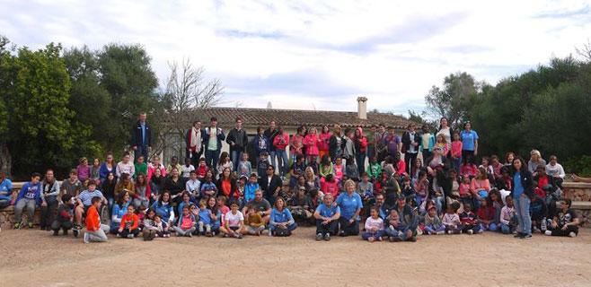 Más de 160 niños visitan el Observatorio de Costitx