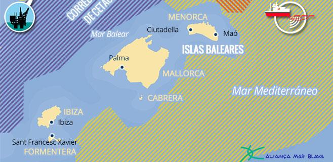 Varios colectivos piden unanimidad para liberar el mar balear de prospecciones