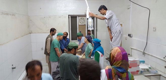 9 miembros de MSF muertos en un ataque aéreo en Kunduz